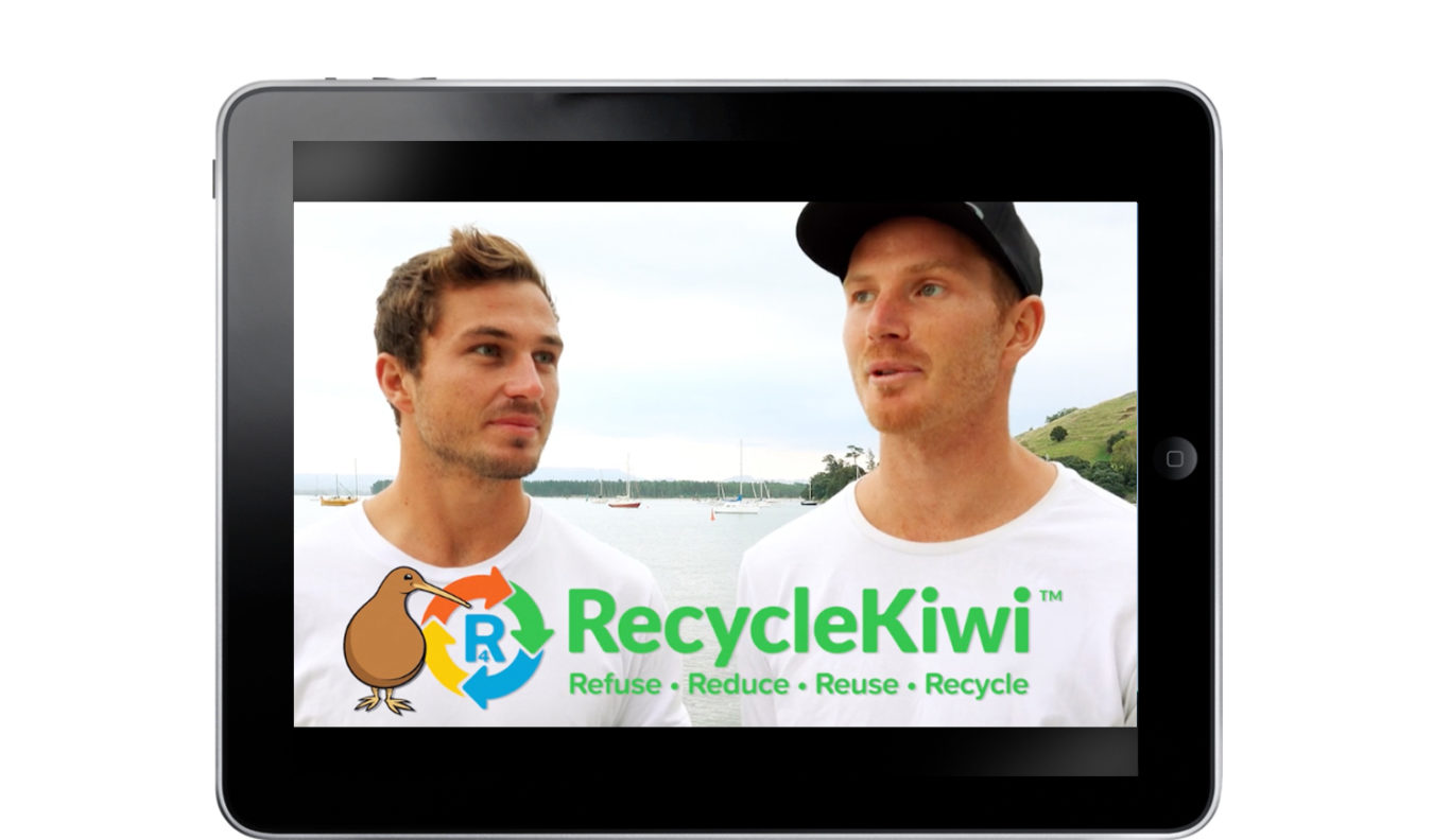 iPad RecycleKiwi